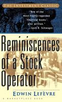 Reminiscences of a Stock Operator book summary