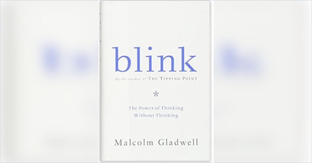 "essay book blink Blink: the power of thinking without thinking is a book written by malcolm  gladwell this book introduces the concept of ""thin slicing."