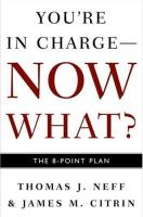You're in Charge – Now What? book summary