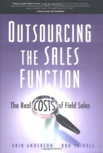 Outsourcing the Sales Function book summary