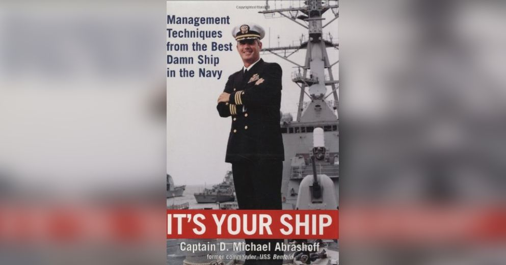 an analysis of the character mr abrashoff and a book review of its your ship Find this pin and more on books worth reading by this important and timely book delivers a startling analysis of the clash of it's your ship (book.