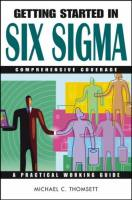 Getting Started in Six Sigma book summary
