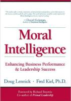 Moral Intelligence book summary