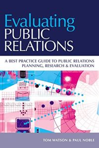 Evaluating Public Relations book summary