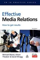 Effective Media Relations book summary