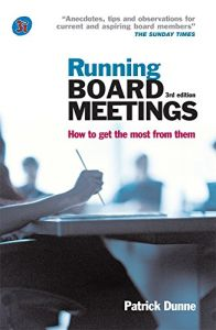 Running Board Meetings book summary