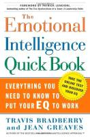 The Emotional Intelligence Quick Book book summary