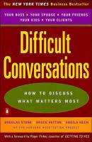 Difficult Conversations book summary