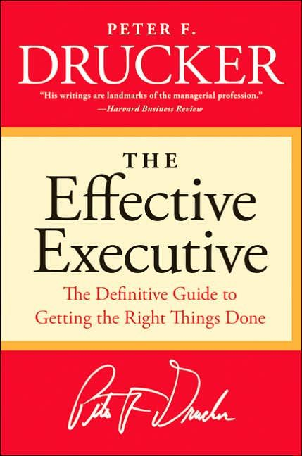 Image of: The Effective Executive