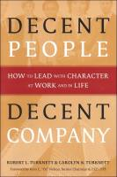 Decent People, Decent Company book summary