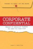 Corporate Confidential book summary