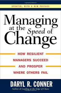 Managing at the Speed of Change book summary