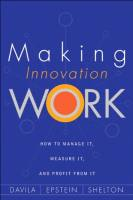 Making Innovation Work book summary