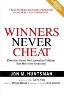Winners Never Cheat book summary
