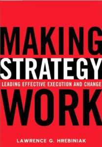 Making Strategy Work book summary