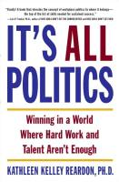 It's All Politics book summary