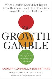 Growth Gamble book summary