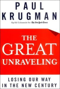 The Great Unraveling book summary