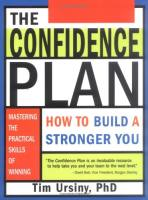 The Confidence Plan book summary