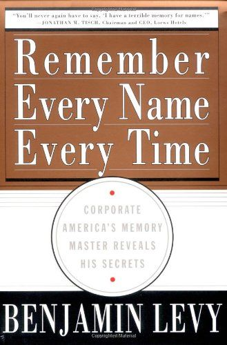 Image of: Remember Every Name Every Time
