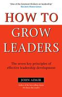 How to Grow Leaders book summary