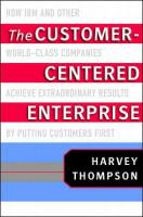 The Customer Centered Enterprise book summary