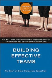 Building Effective Teams book summary