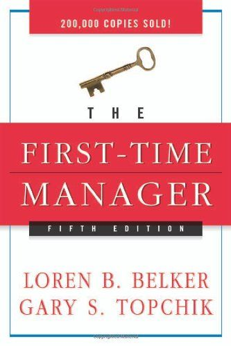 Image of: The First-Time Manager