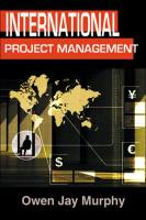 International Project Management book summary