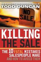Killing the Sale book summary