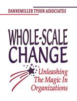 Whole-Scale Change book summary