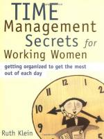 Time Management Secrets for Working Women book summary