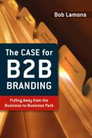 The Case for B2B Branding book summary