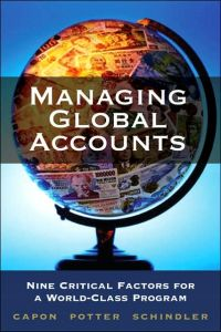 Managing Global Accounts book summary