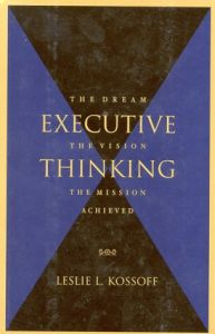 Executive Thinking book summary