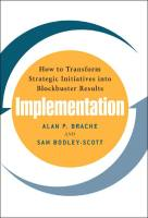Implementation book summary