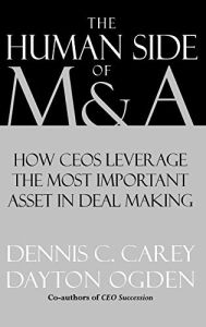 The Human Side of M & A book summary