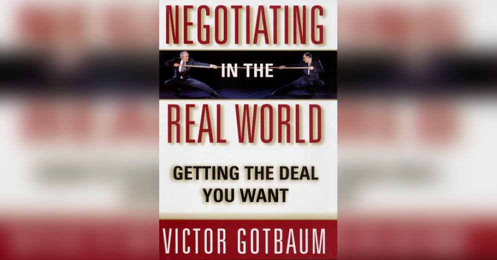 negotiation real world reflection Personal reflection on negotiation skills  i need to know the real reason behind the existence of each of the components in my  i am not a world.