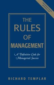 The Rules of Management book summary
