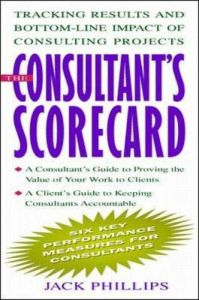The Consultant's Scorecard book summary