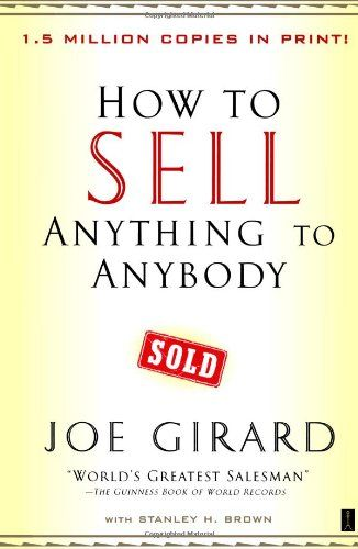 Image of: How to Sell Anything to Anybody