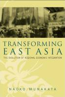 Transforming East Asia book summary