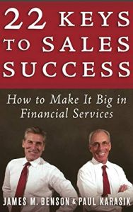 22 Keys to Sales Success book summary