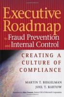 Executive Roadmap to Fraud Prevention and Internal Control book summary