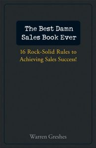 The Best Damn Sales Book Ever book summary