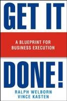 Get it Done! book summary