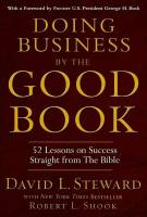 Doing Business by the Good Book book summary