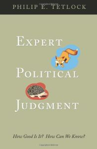 Expert Political Judgment book summary