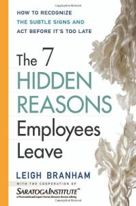 The 7 Hidden Reasons Employees Leave book summary