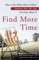 Find More Time book summary